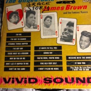 JAMES BROWN & THE FURIOUS FLAMES - The Unbeatable